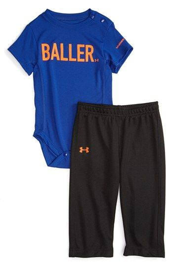 Under Armour 'Baller' Bodysuit & Pants (Baby Boys) available at #Nordstrom