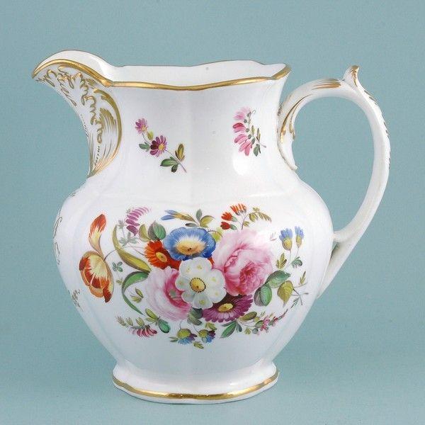Coalport porcelain jug from Windsor Castle 1830s