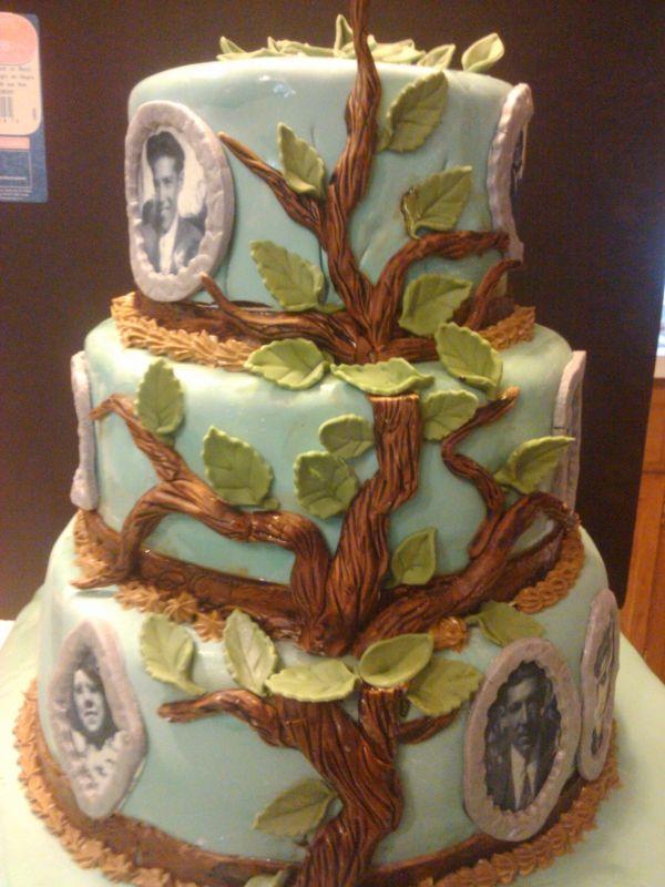 Family Reunion cake @ Rachalle  Mitchell