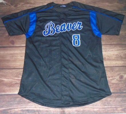Beaver Baseball designed this custom jersey and Locker Room in Cedar City, UT created it for the team! http://www.garbathletics.com/blog/beaver-baseball-custom-jersey/ Create your own custom uniforms at www.garbathletics.com!
