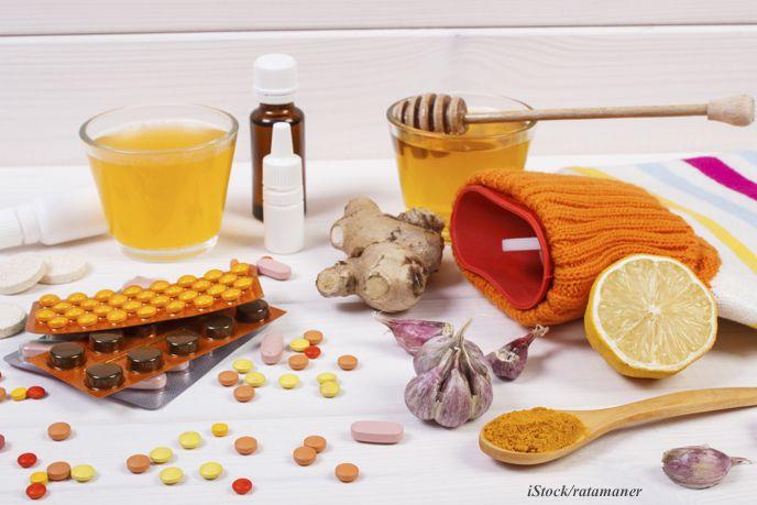 Was tun bei Grippe oder Erkältung?