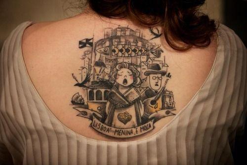 Fado/Lisboa tattoo