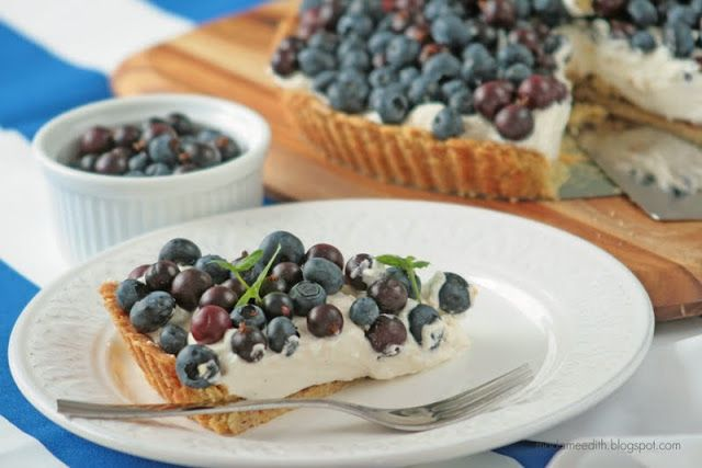 Madame Edith: Tarta z owocami i mascarpone