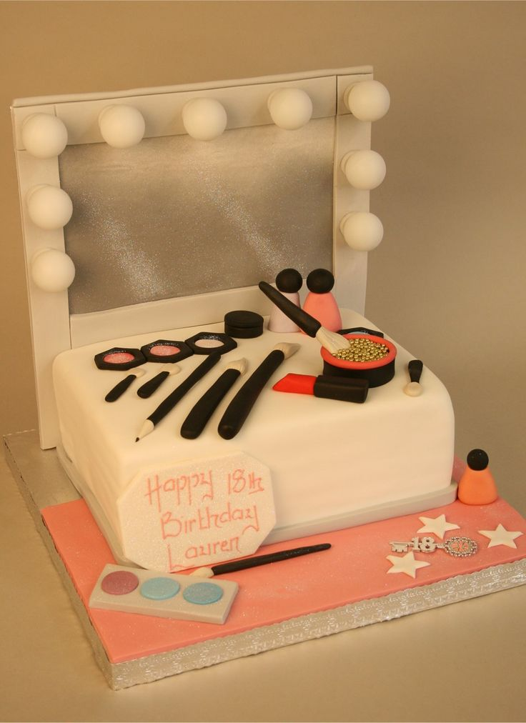 For Glamour Party.......Spotlight Dressing Table cake for Anna or bella