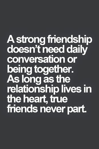 A strong friendship - http://quotespaper.com/quotes-about-life/5500