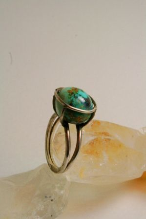 Sterling silver ring  Designed & Hand made by Bur_Cak