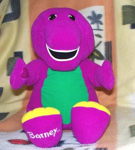 Barney Christmas Ornament