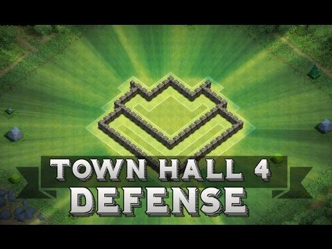 awesome Clash Of Clans | Town Hall 4 Defense + Defensive Replays ( Th4 Base )  Clash of Clans Town hall 4 defense with defence replays of town hall 4 base . This Town hall 4 defence is solid for protecting loot as well as cup...http://clashofclankings.com/clash-of-clans-town-hall-4-defense-defensive-replays-th4-base/
