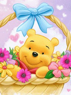 animated gif winnie the pooh | Animated Screensavers – Winnie The Pooh 2 | Funny GIFs, Animated ...