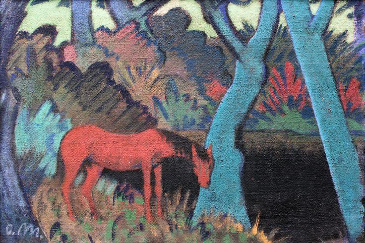 1928 Mueller Zigeunerpferd am schwarzen Wasser anagoria - Otto Mueller – Wikipedia