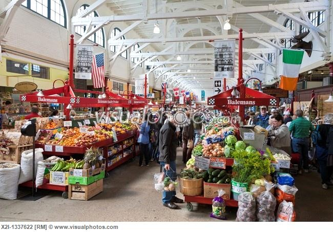 Balemans produce stands in City Market in Saint John, New Brunswick, Canada I can almost smell the dulse from here ;)
