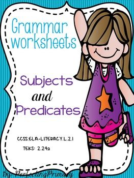 17 Best ideas about Subject And Predicate Worksheets on Pinterest ...