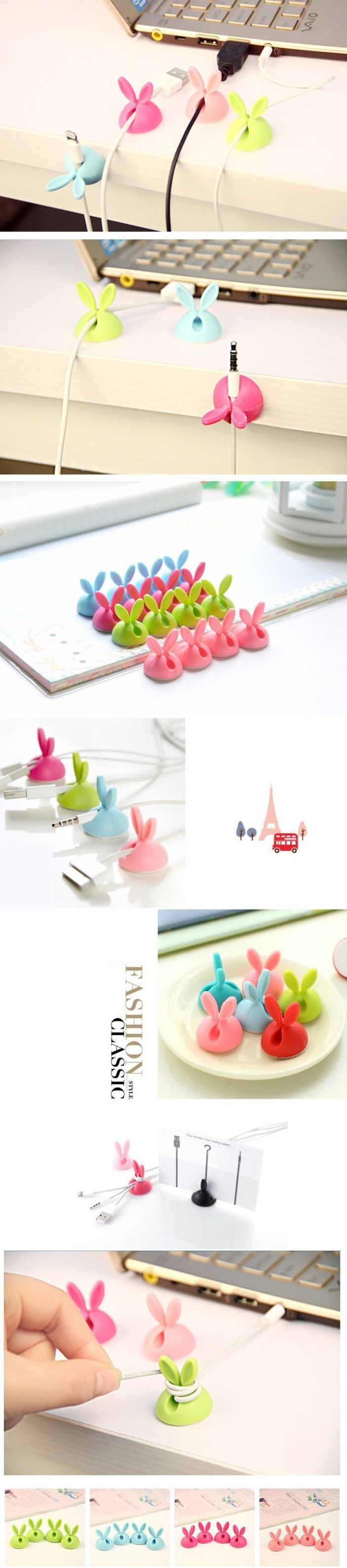 INFMETRY:: Rabbit Cable Holder - Gadget - Electronics