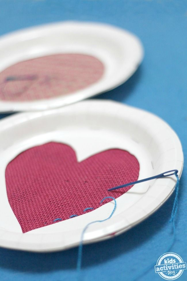 Make your own DIY sewing cards for beginning sewing projects for kids. Practice sewing with a darning needle before you start your first sewing project!