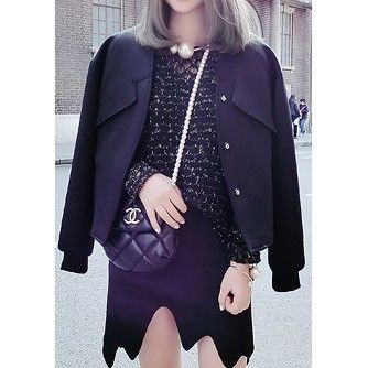Becca Boxy Silhouette Neoprene Jacket $169.00 http://www.helloparry.com/collections/new-arrival/products/becca-boxy-silhouette-neoprene-jacket