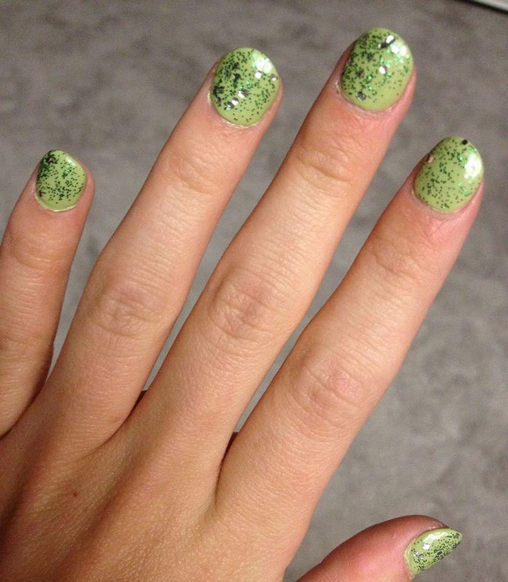 55 best St. Patrick\'s Day Nail - Uñas de San Patricio images on ...