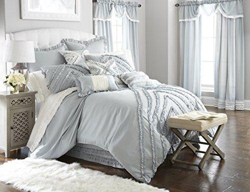 Amrapur 4CMF24SGJULQN 24 Piece Julianne Grey Comforter Set Queen ** You can find more details by visiting the image link.