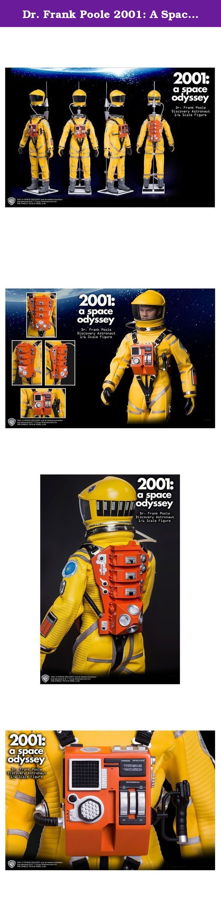 Dr. Frank Poole 2001: A Space Odyssey Discovery Astronaut Collectible Figure. Academy Award winning 2001: A Space Odyssey was the highest grossing North American flm in 1968 due in large part to its pioneering special effects, imagery, and relevant themes. The film follows Dr. Dave Bowman (played by Keir Dullea) Dr. Frank Poole (played by Gary Lockwood) and other astronauts on a trip to Jupiter. Arguably one of the greatest and most influential films ever made, 2001: A Space Odyssey set…