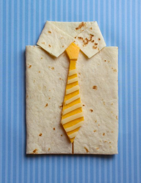 Father's day quesadillas.