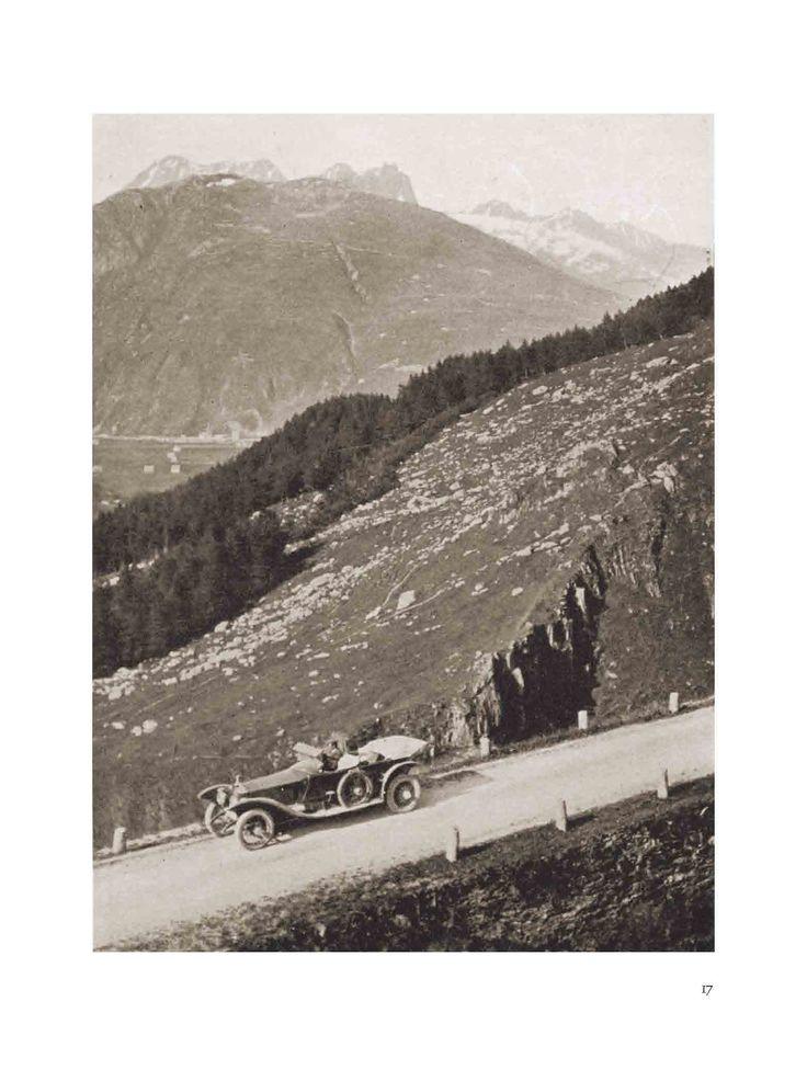 L'auto del nostro esploratore-giornalista inglese, amico della regina, membro della royal geographic society... il personaggio che aprì le Alpi all'auto, al trasporto individuale.... da far conoscere dopo 100 anni.....