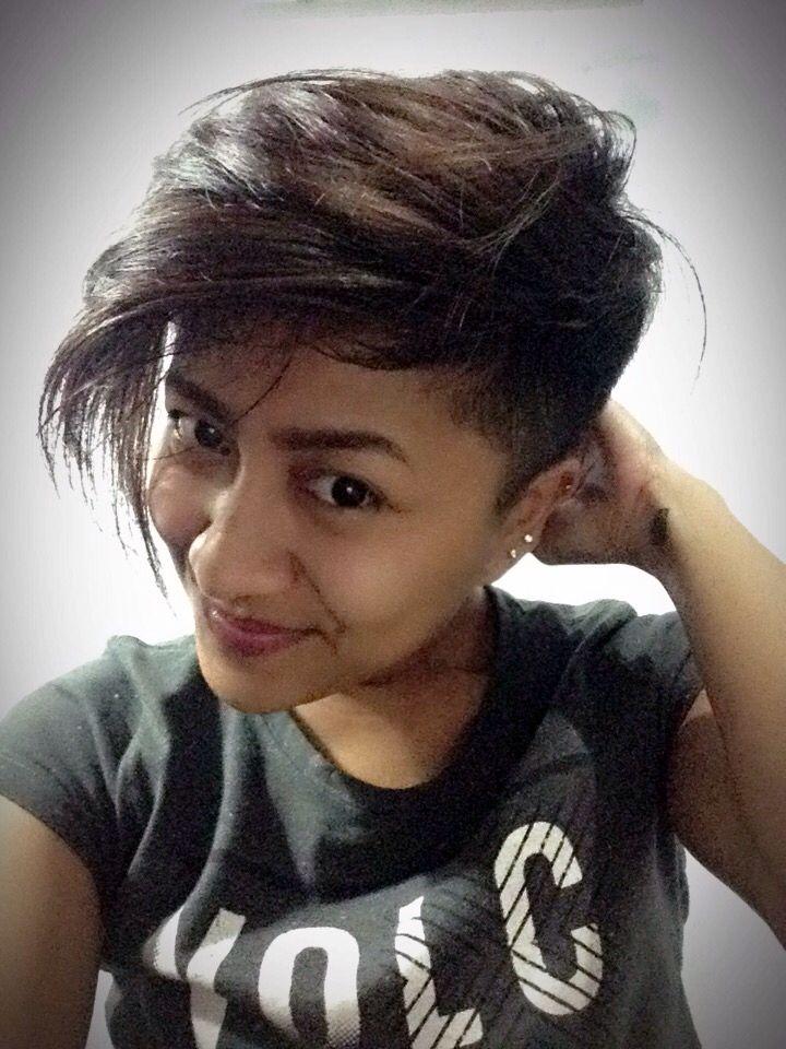 Ma pixie hair