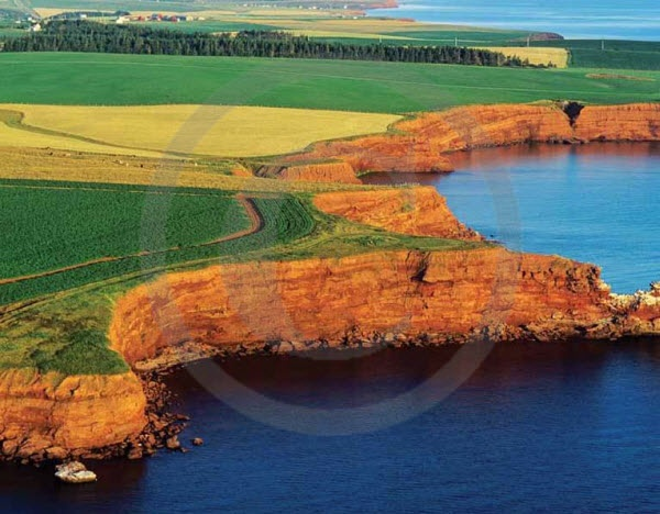 Cape Tryon, Prince Edward Island - August 2014 Scenes of Canada Promotional Calendars