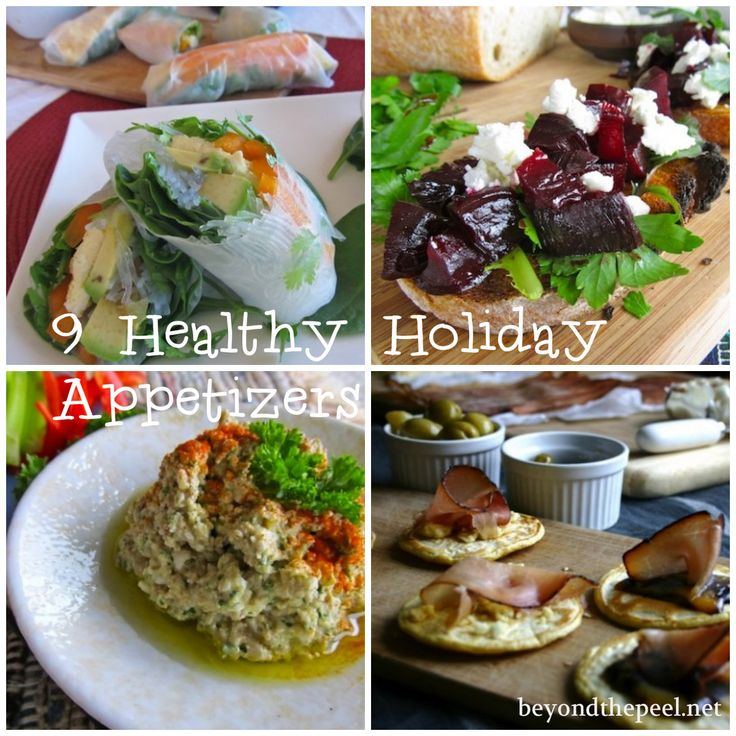 9 Healthy Whole Food Appetizers For The Holidays
