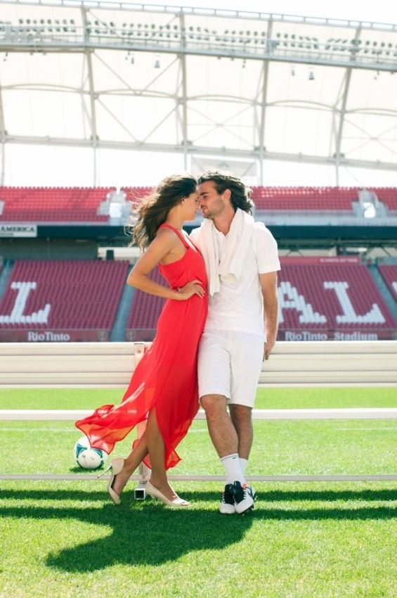 U.S. World Cup Star Kyle Beckerman's Engagement Photos Are a Kick