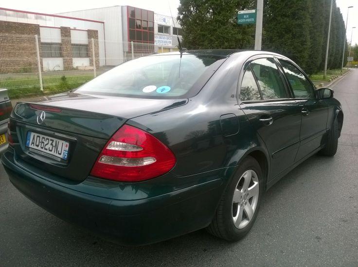 Mercedes E200 à louer Paris 20