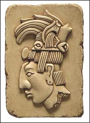 King Pacal, Maya King Pacal, Maya Art, Maya, pre-columbian reproductions.