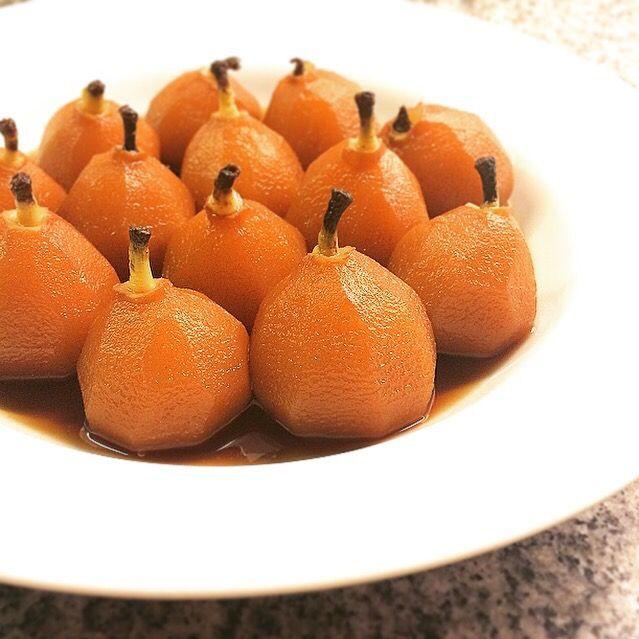 ほんのり甘いアールグレイの香りです - 112件のもぐもぐ - Earl Gray Poached Pears 小ぶりの洋梨の紅茶煮 by centralfields