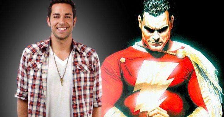 Zachary Levi Is DC's Shazam! -- Zachary Levi takes the lead role in DC's upcoming Shazam! movie for Warner Bros. -- http://movieweb.com/shazam-movie-cast-zachary-levi/