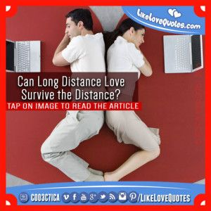 Can Long Distance Love Survive the Distance?