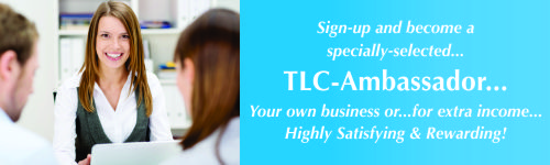 Become a TLC-Ambassador http://tlcforwellbeing.com/form_ambassadors.php