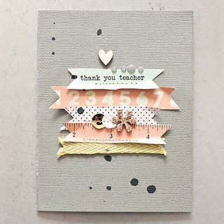 Thank You Card >> Maggie Holmes Studio Calico Oct Kits