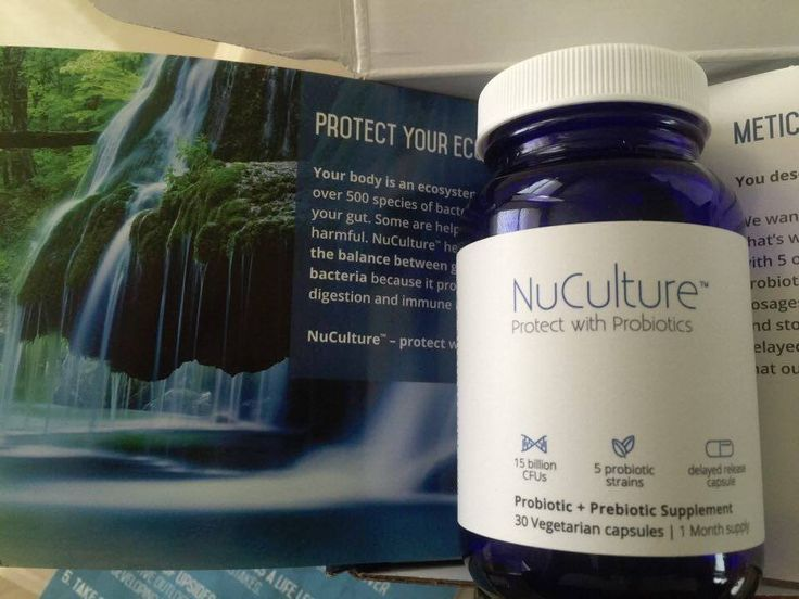 Skin benefits from the live cultures we add to our gut health daily. Unique Integration of Probiotics and Prebiotics in One #NuCulture from AlternaScript