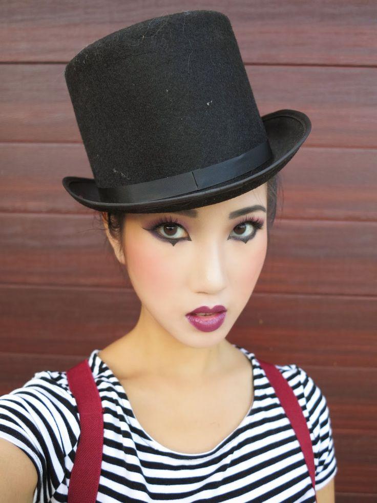 KimKine: Mime Makeup and Costume