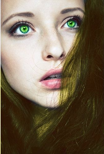 Sabrina - Maybe a sequel to Colours, you could find a green eyes girl :D