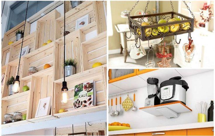 15 káprázatos polc ötlet, hogy mindennek legyen helye a konyhában!