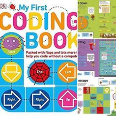 I'm absolutely loving this book that I found for my nephews (I'll give it to them when I'm done with it ). You can never start coding too early! Pop over to my FB Page to see a live video walkthrough I did of it today. Or, Grab the Book (in my