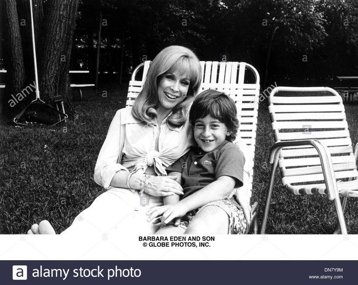 June 27, 2001 - Barbara Eden And Son Matthew Ansara (credit Image: © Globe Stock Photo, Royalty Free Image: 64713984 - Alamy