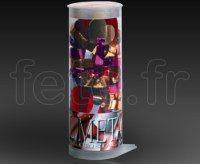 Bombe - Table - Confettis - Métal - Ø 20cm - K1C1 MULTICOLORE