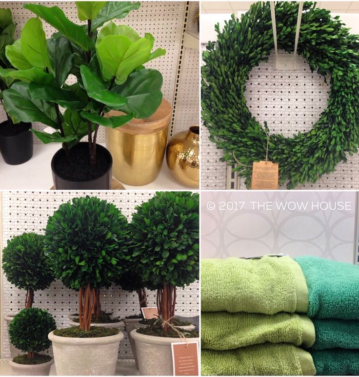 SHOPPING FOR GREENERY Series. Target. (For other stores see my previous posts). 🌿Alright guys, this is what Target has in store. Not too much but I can definitely make these pieces work when decorating and styling my home as well as staging properties for sale. Faux boxwood greens = zero maintenance and a beautiful way to bring some color into your home! The fiddle leaf fig tree can make that big one-piece statement, and... Check out my full post on IG: the.wow.house FB: TheWowHouse