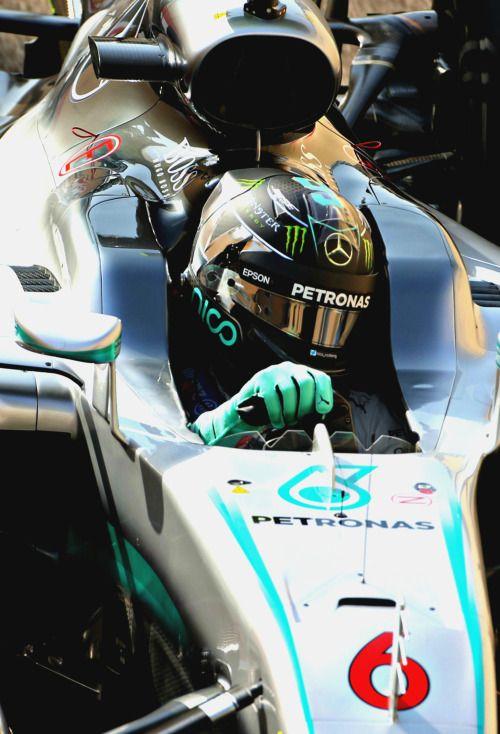 Nico Rosberg GP Abu Dhabi 2016