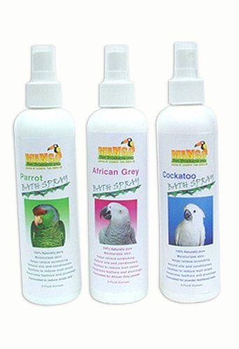 Mango Pet - Cockatoo Non-irritating, Hypoallergenic Shampoo Bath Spray-case of 12