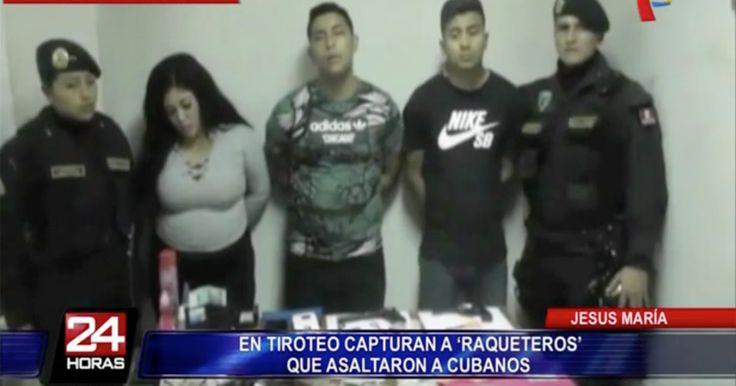 Detienen a los ladrones que asaltaron a un grupo de cubanos en Perú (VIDEO) #DeCubayloscubanos #asaltantes #Detienen #ladrones #Perú