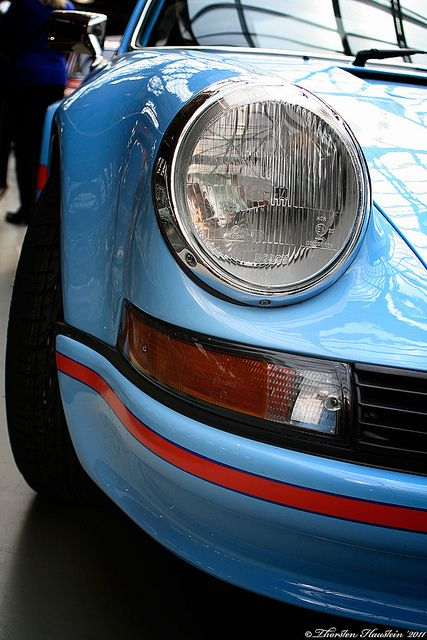 Blue 911 RS