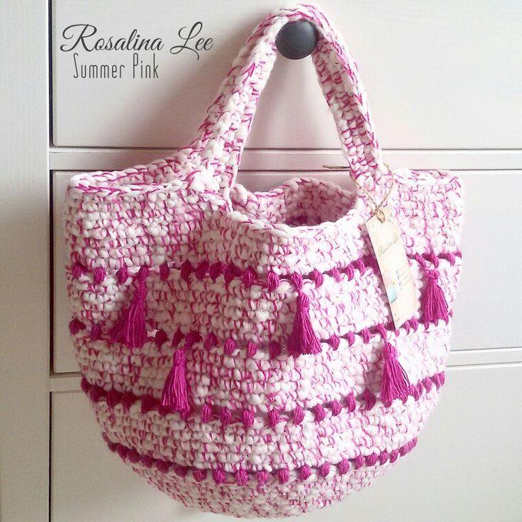 Crochet Tote Bag ..