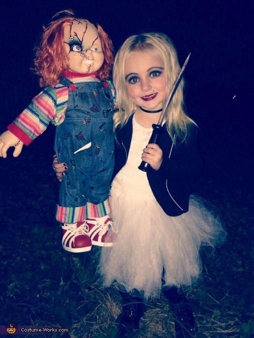 Bride of Chucky Homemade Costume