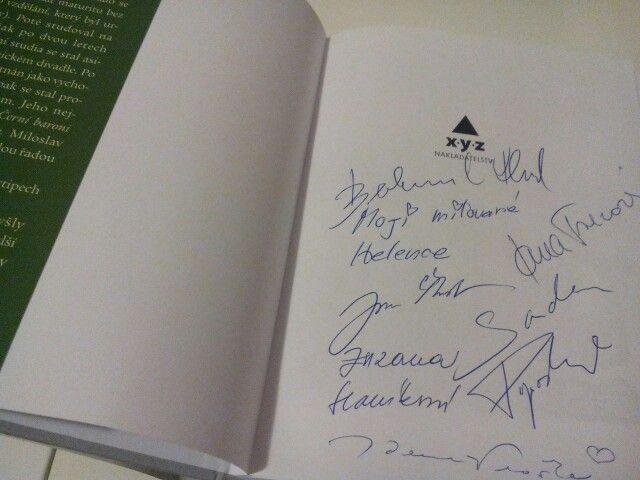 Podepsaný Doktor od Jezera chrochů... vzácný kousek :-)